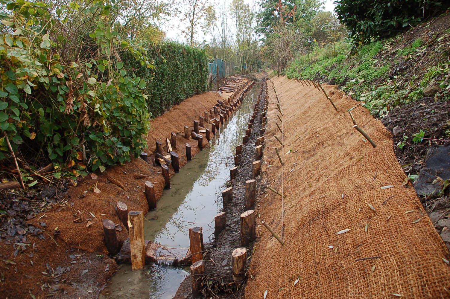 Restauration du ru de la Fontaine